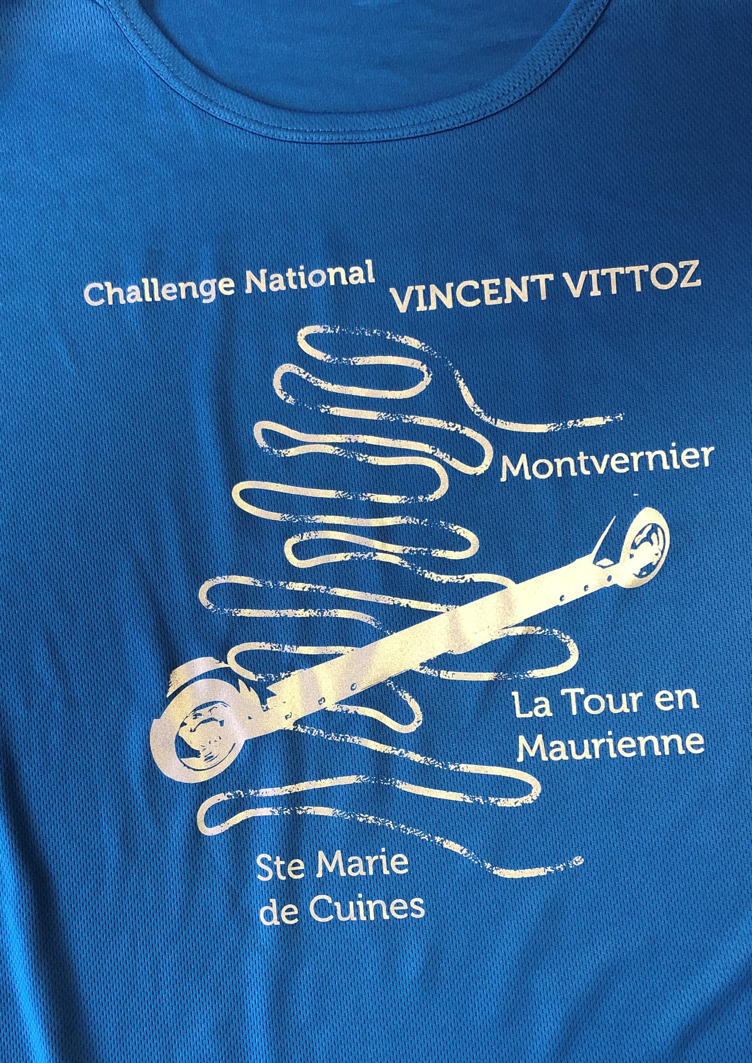 tee shirt mauriennisez vous chalenge vincent vittoz 2019