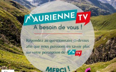 L'association MauriennisezVous a besoin de votre avis concernant Maurienne TV !